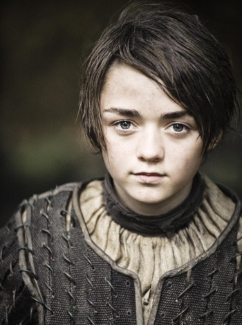 Arya Stark, Winterfell, Game of Thrones, GRR Martin,