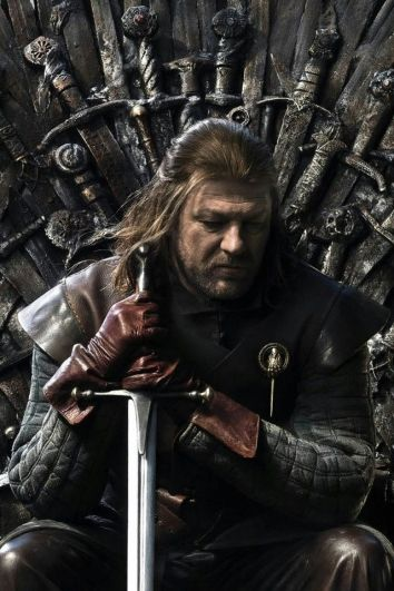 Eddard Stark, Ned Stark, Winterfell, Game of Thrones, GRR Martin,