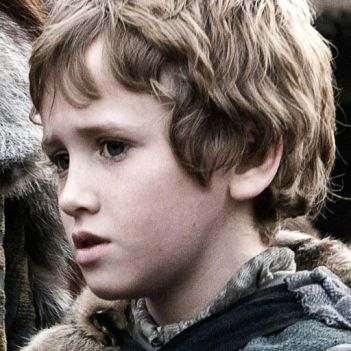 Rickon Stark, Winterfell, Game of Thrones, GRR Martin,