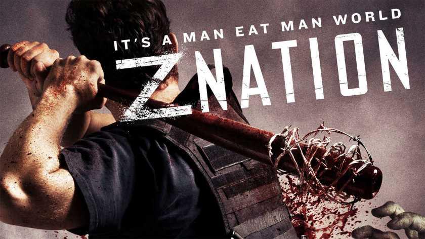Z nation, zombie, apocalypse, gore, sang, tripes, vomi, fun, décalé, drôle, doc, murphy, 10 000, cassandra, addison carver,