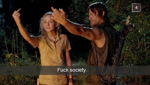 Daryl Dixon, Beth Greene, Bethyl, The Walking Dead, zombie, walkers,