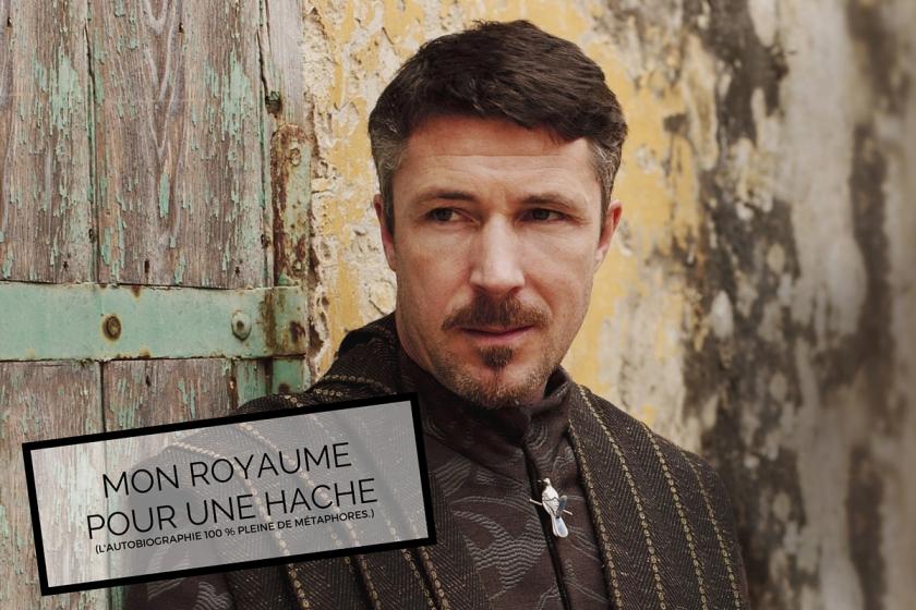 Petyr Baelish ou Littlefinger, dans Game of Thrones de GRR Martin.