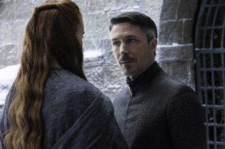 Sansa & Dark Baelish, juste avant le drame.