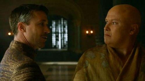 Littlefinger et Varys, un duel au sommet.