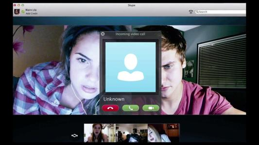Conversation Skype - Unfriended