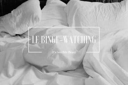Le kit parfait du binge-watcher averti : un lit & une couette.