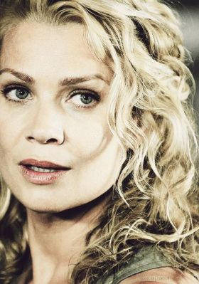 Laurie Holden incarne Andrea, dans The Walking Dead, sur AMC.