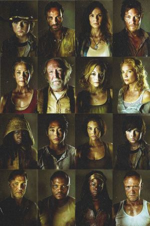 The Walking Dead sur AMC - Le casting au complet