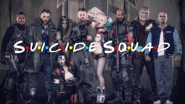Suicide Squad, le film Will Smith, Margot Robbie et tout plein de figurants, réalisé par David Ayer (2016).