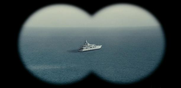 L'Abigail, le yacht privé de Victor Strand, l'homme qui prévoit tout.