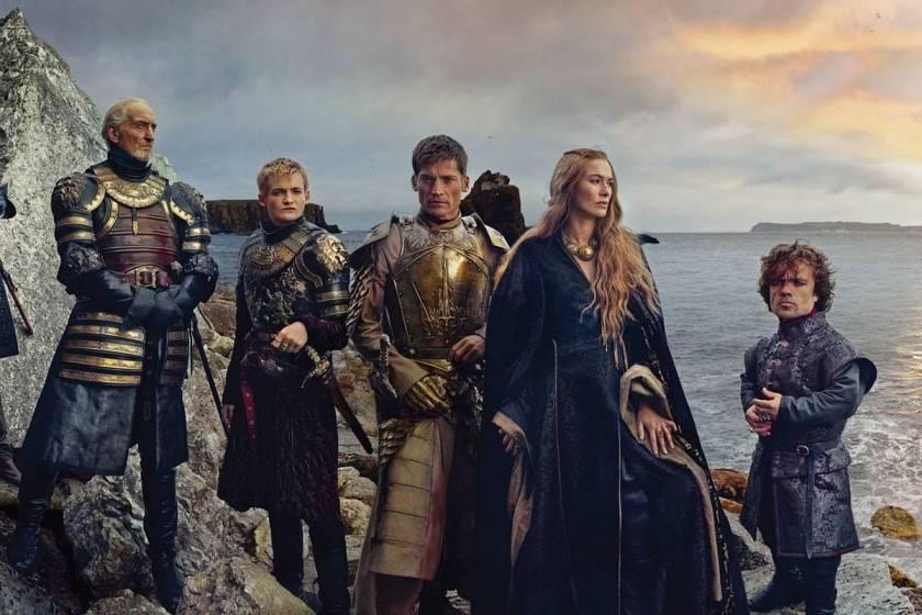 La Famille Stark : Tywin, Joffrey, Jaime et Cersei (les jumeaux amoureux)(gros malaise), Tyrion.