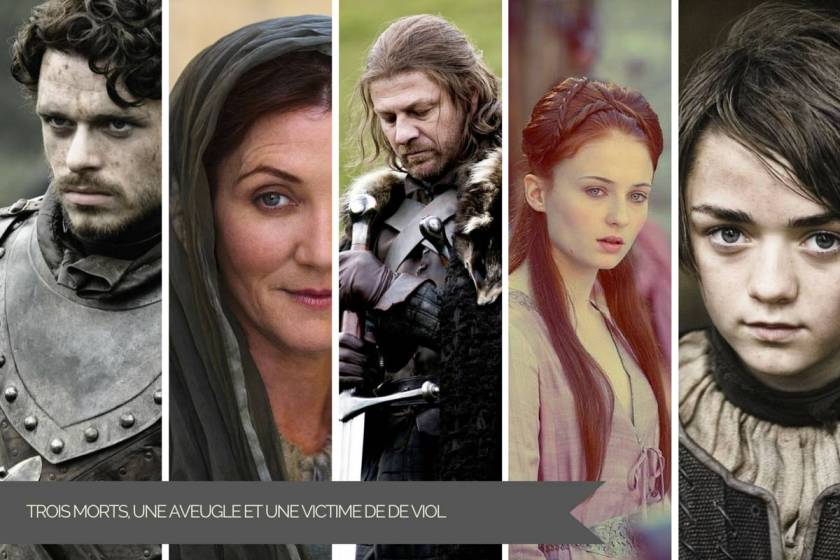 La Famille Stark, as known as les Gentils prennent tarif dans Game of Thrones