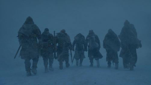 La Suicide Squad passe le mur, dans Game of Thrones, épisode 6.