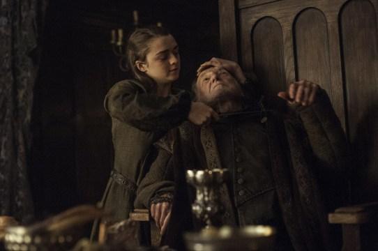 Arya Stark prend sa revanche sur Walder Frey