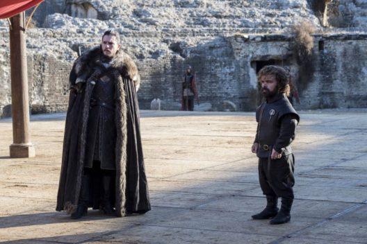 Jon Snow boude, prise n°7543.