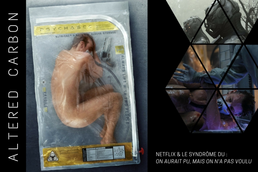 Critique d'ALTERED CARBON, série NETFLIX, par Sweet Judas