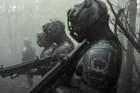 Altered Carbon ~ Le Protectorat et leurs armures badass